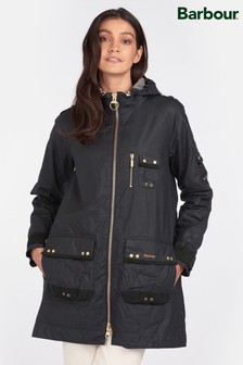 Barbour® Re-Engineered Navy Archive Military Wax Lennox Jacket