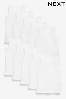 10 Pack Vests (1.5-16yrs)