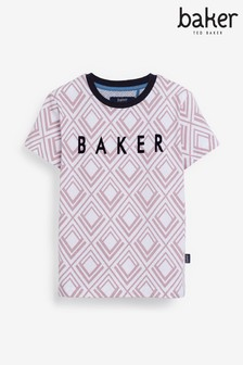 Baker by Ted Baker Boys Geometric T-Shirt