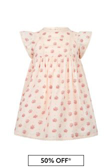 Bonpoint Pink Cotton Dress