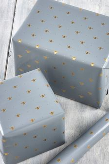 6M Bee Print Wrapping Paper