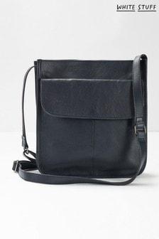 White Stuff Navy Issy Pocket Cross-Body Bag