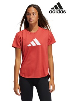 adidas Red Badge of Sport Logo T-Shirt