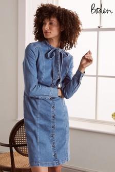 Boden Blue Elspeth Shirt Dress