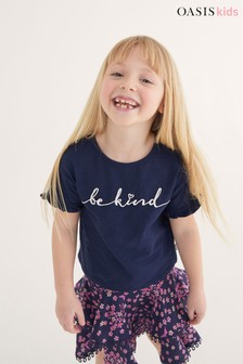 Oasis Be Kind Slogan T-Shirt