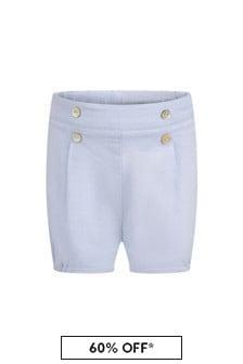 Paz Rodriguez Baby Boys Blue Shorts