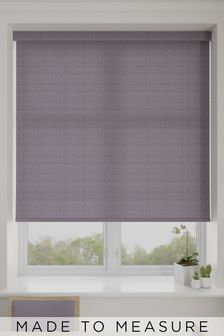 Mae Purple Made To Measure Roller Blind