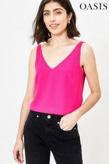 Oasis Pink Formal Vest