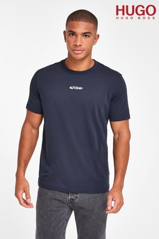 HUGO Durned Sig Logo T-Shirt