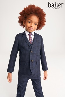 Baker by Ted Baker Navy Suit Jacket