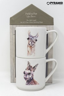 Pyramid International Jane Bannon The Odd Couple Mug Gift Set