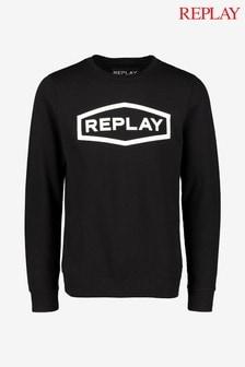 Replay® 3D Logo Sweatshirt