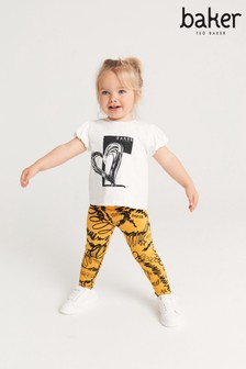 Baker by Ted Baker Printed T-Shirt and Legging Set
