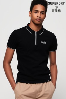 Superdry City Sport Zip Poloshirt