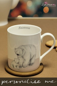 Personalised Polar Bear Mug by Signature PG