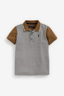 Heritage Check Short Sleeve Polo (3-16yrs)