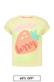 Billie Blush Girls Yellow T-Shirt