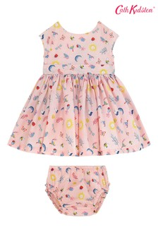 Cath Kidston® Magical Ditsy Baby Charlotte V-Back Dress And Shorts