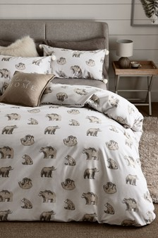 Barnaby Bear Duvet Cover And Pillowcase Set