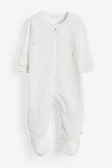 Star Fleece Sleepsuit (0mths-3yrs)