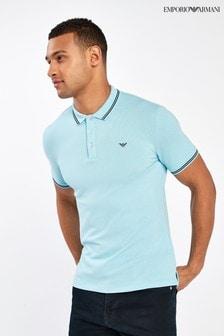 Emporio Armani Sky Blue Poloshirt