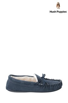 Hush Puppies Blue Allie Slippers