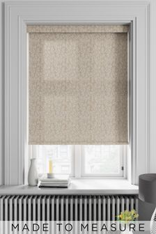 Aston Latte Natural Made To Measure Roller Blind