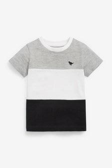 Colourblock Pique T-Shirt (3mths-7yrs)