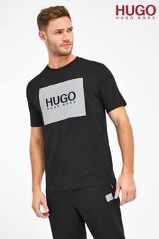 HUGO Dolive Patch Logo T-Shirt