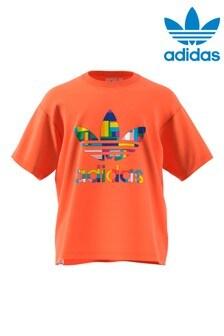adidas Originals Pride Flag Trefoil T-Shirt