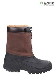 Cotswold Brown Venture Waterproof Winter Boots
