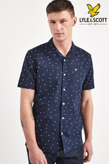 Lyle & Scott Short Sleeve Printed Resort Shirt