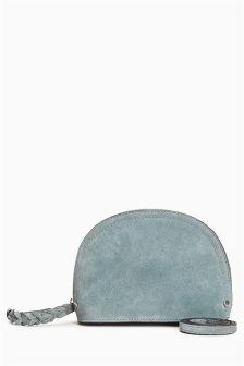 Suede Mini Across Body Bag