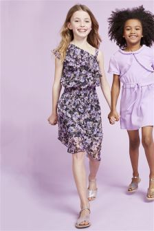 All Over Print Floral Dress (3-16yrs)