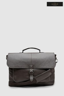 Signature Made In Italy Leather Briefcase