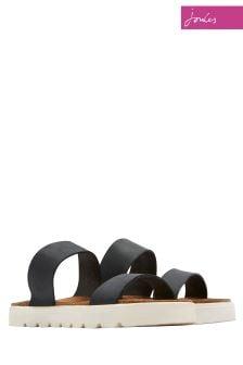 Joules Black Ashmore Sandal