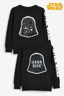 Star Wars™ Sequin Change Crew Top (3-14yrs)