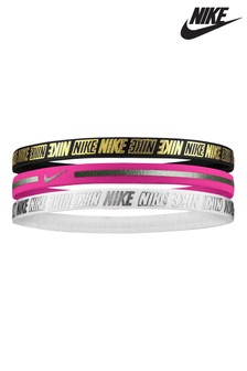 Nike Print 3 Pack Headbands