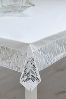 Embellished Table Cloth