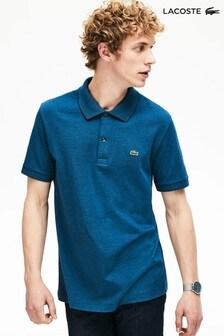 Lacoste® Striped Pima Polo Shirt