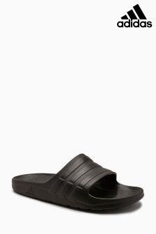 adidas Black Duramo Slider