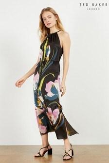 Ted Baker Piana Urban Halterneck Midi Dress