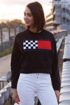 Tommy Hilfiger Black Bia Pitt Sweatshirt