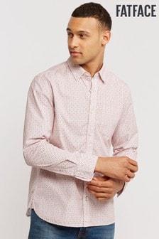 FatFace Pink Blyth Tile Print Shirt