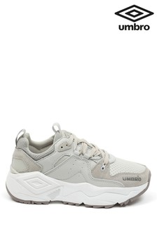 Umbro Grey Run Luxe Trainers