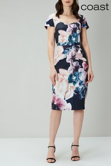 Coast Blue Ciara Printed Shift Dress