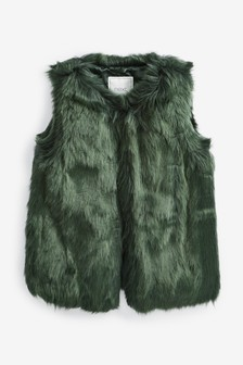 Faux Fur Gilet (12mths-10yrs)