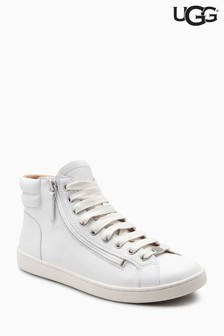 UGG® Leather Olive Hi Top Trainer