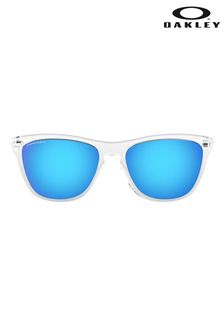 Oakley® White Frogskins Sunglasses