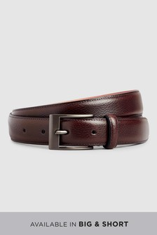 Leather Pebble Grain Belt